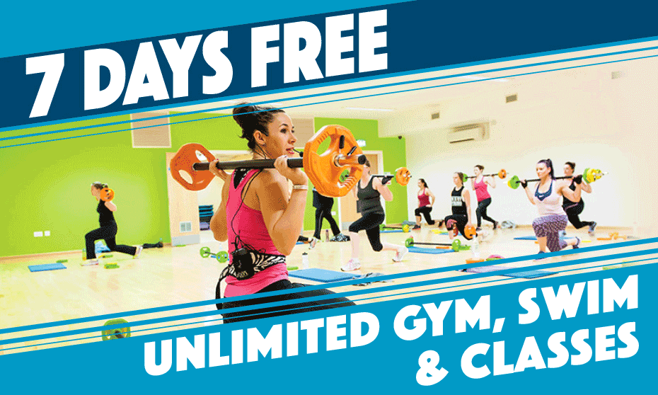 Get a 7 day FREE trial at Inspiring healthy lifestyles leisure centres