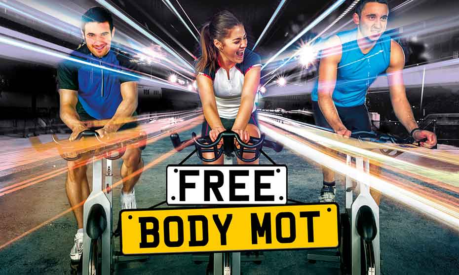 Get your free MOT at an Inspiring healthy lifestyles leisure centre and reboot your life